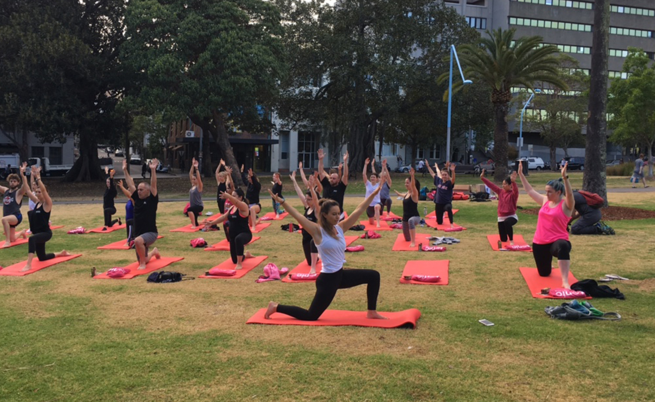 Corporate Yoga Class Sydney