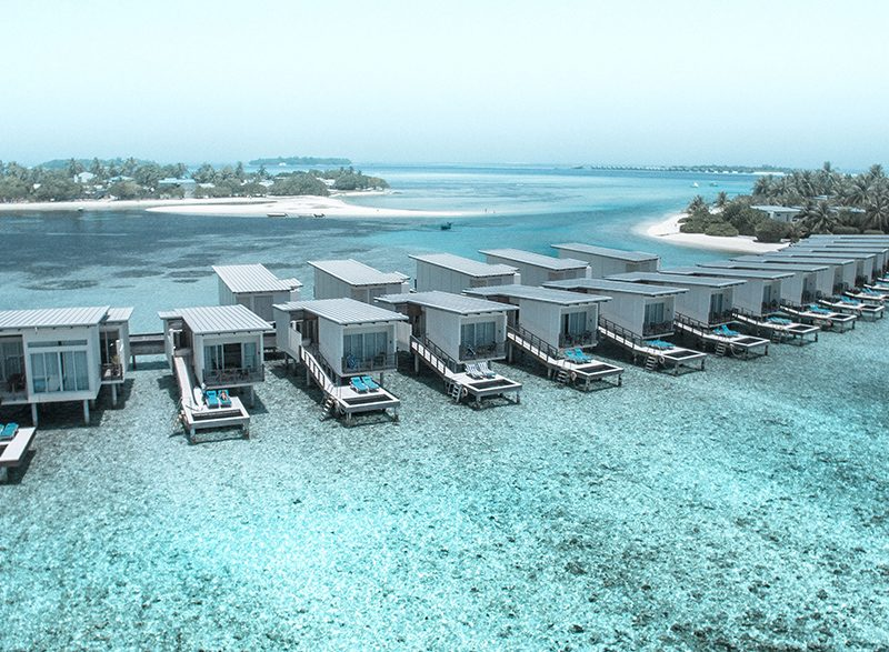 maldives beach retreat